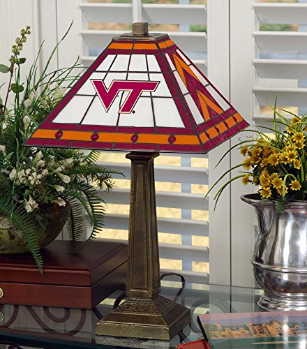 NCAA Virginia Tech 23in Mission Lamp, One Size, Multicolor by Memory Company