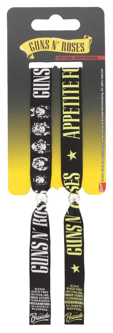 Pyramid International Guns N' Roses - Pulsera para niño, multicolor, 10 mm AFFWR68025