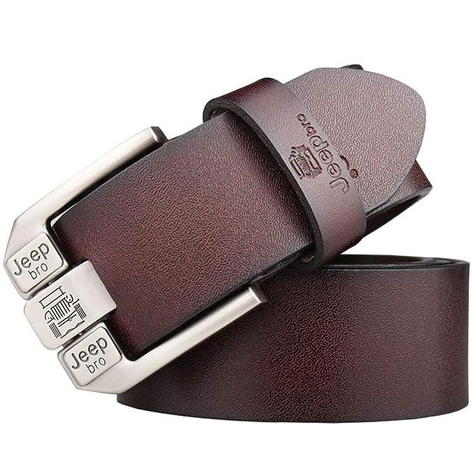 selezione straordinaria vendita economica all'ingrosso online SBORT Cintura da uomo allungabile con fibbia ad ago grossa ...