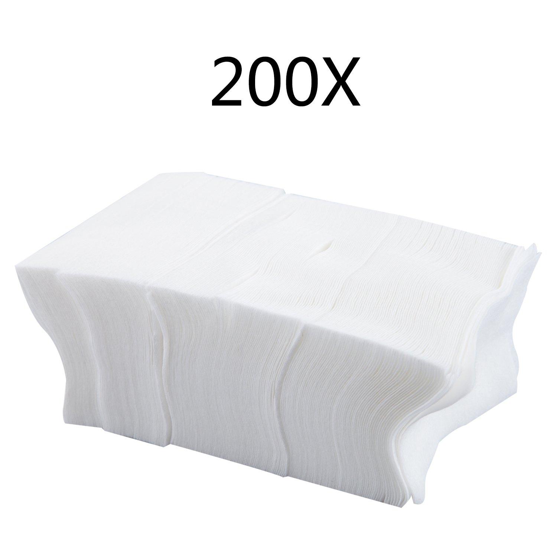 TRIXES 200 Toallitas Sin Pelusa para Uñas Súper Absorbentes - Toallitas Uñas: Amazon.es: Belleza