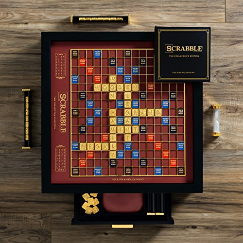 Winning Solutions Franklin Mint Scrabble