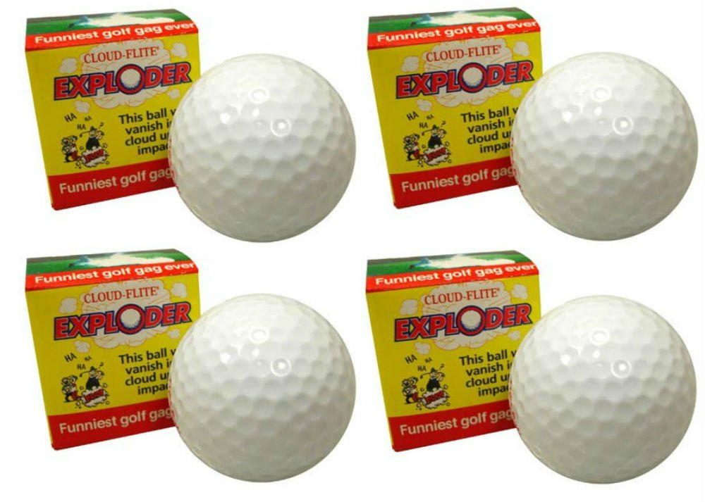 Novelty Golf Balls | Amazon com: Trick Golf Balls
