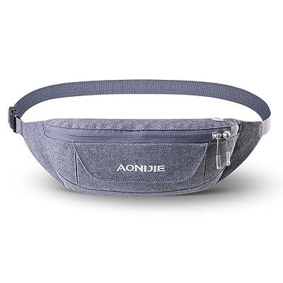 Fashionwu Unisex Waistpack Pouch Outdoor Camping Hiking Running Bag Waist Bags with Adjustable Belt new