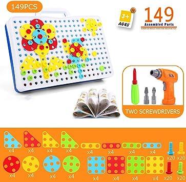 Mosaik Box Montessori Spielzeug zur Förderung von