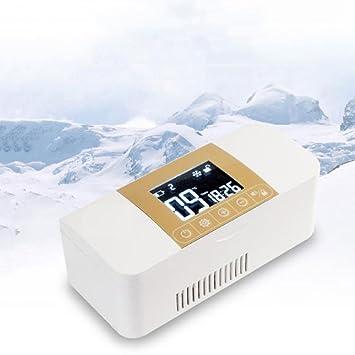 Refrigerador Portátil del Coche, Refrigerador De La Insulina Refrigerante De La Droga Versión De Audio Refrigeración Y Calefacción De Doble Propósito: ...