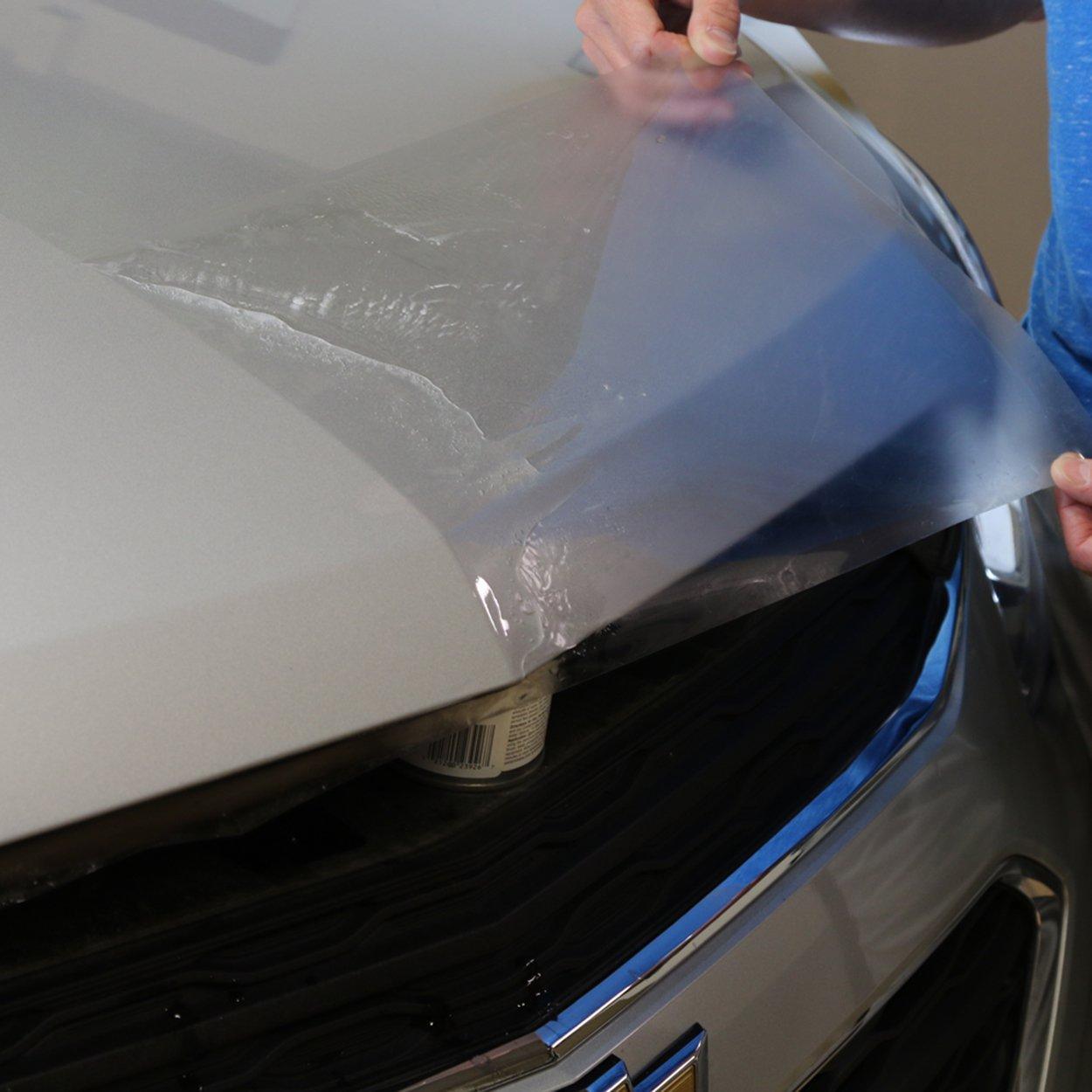 Bundle-Hood Strip, Door Edge, Door Cup, Door Sill Install Proz Self-Healing Clear Paint Protection Film Kits