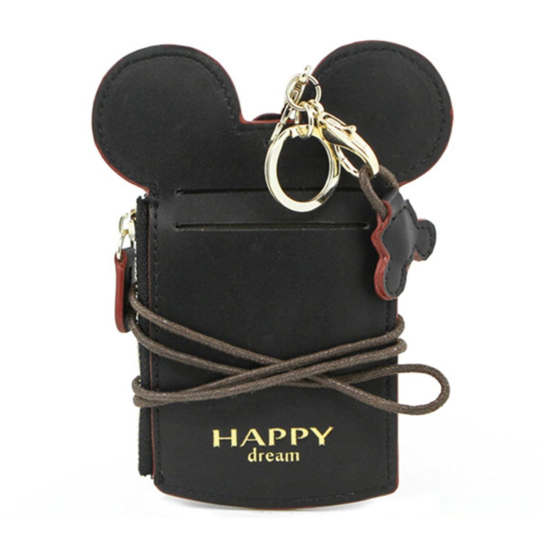 Amazon.com: Disney Parks - Mickey Icon Rainbow Credit Card Holder ...