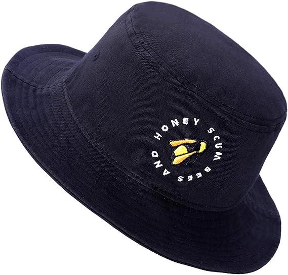 Familyhouse Unisex Packable Summer Travel Bucket Beach Sun Hat Fishing Cap