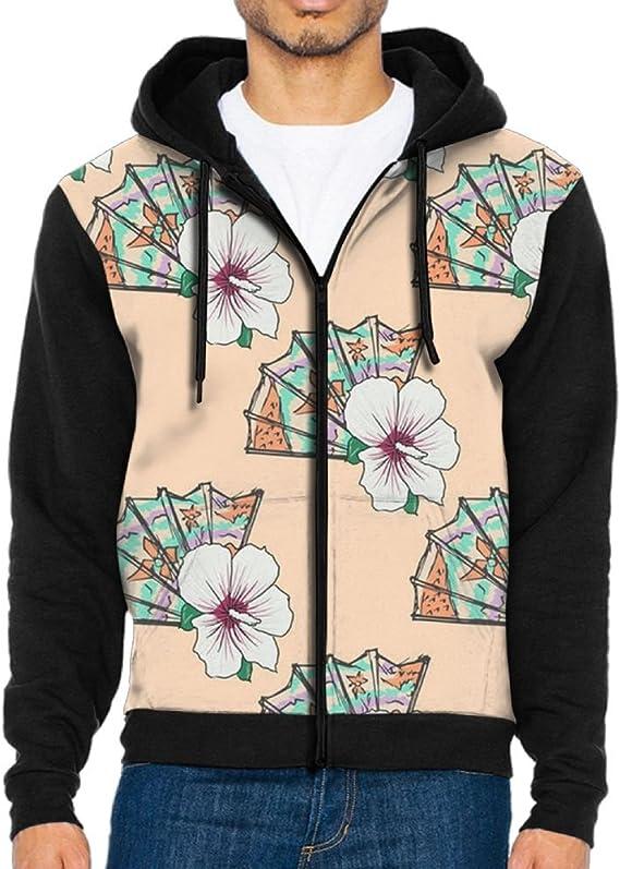Shenghong Lin Sugar Skull Flowers Novelty Mens Black Hoodie Sweatshirt Sportswear Jackets With Hoodies