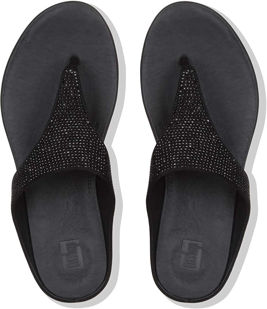 e83ae99fdd21 Fitflop Women s Banda Crystalled Open Toe Sandals  Amazon.co.uk  Shoes    Bags