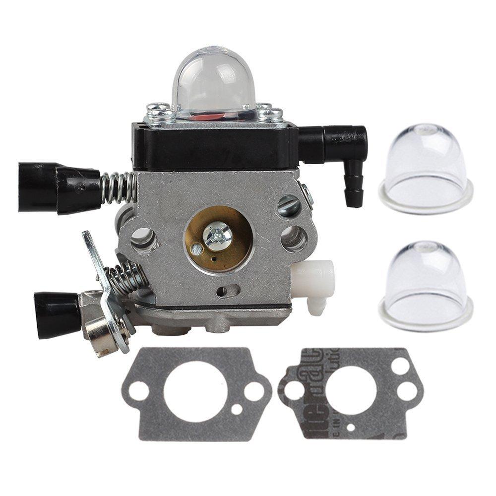 HIPA C1Q-S186 Carburetor for STIHL FS38 HL45 HS45 KM55 FC55 FS45 FS46 FS46C FS55 FS55R FS55RC FS45C FS45L FS55C FS55T String Trimmer Weedeater