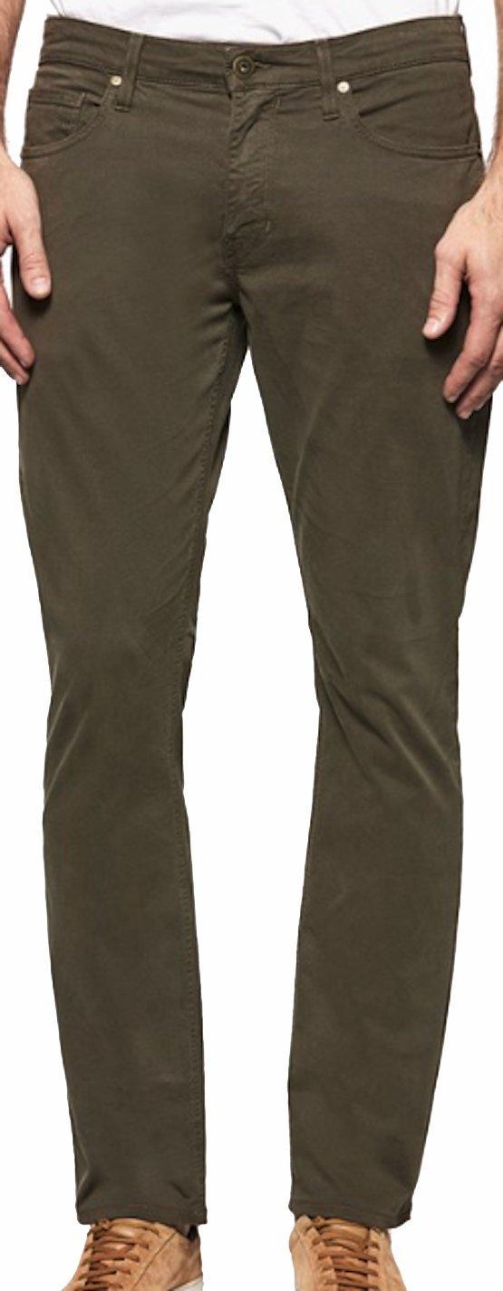 PAIGE Men's Pant Federal Old Guard Twill Slim Pants M655710 5156 (31)