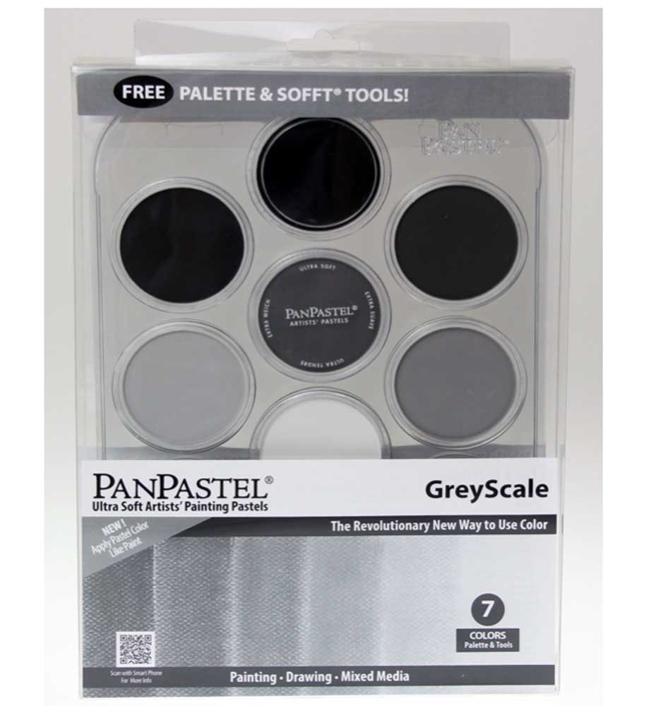 Panpastel 7 Color Grey Scale Set ARMADILLO ART & CRAFT PP30079