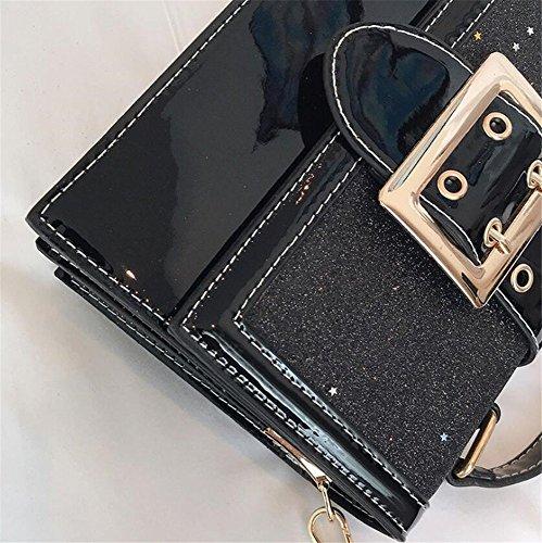 Satchel Noir GWQGZ Minimaliste Fashion Main Unique Femme À Sac Black Sac À Girl Bandoulière Pour Nouveau 6xO6wqWUFH