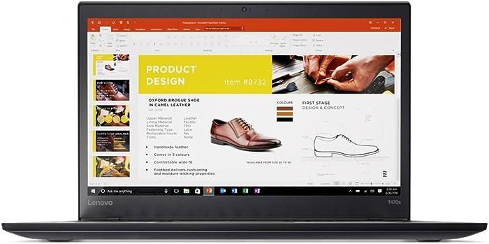 """ThinkPad T470s 14"""" FHD Intel Core i5-6300U, 8GB RAM 256GB SSD,Windows 10 Pro, Business Laptop Computer"""