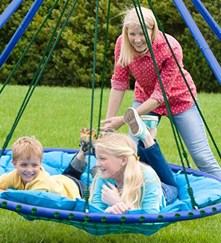 Sky Island Giant Outdoor Hanging Round Platform Swing For