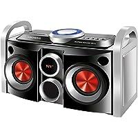 Mini System Super Sound Box Bivolt, Mondial, MS-08B, Preto/Prata