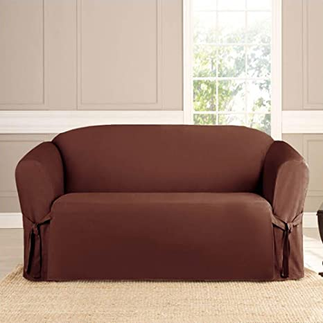 Amazon.com: microsuede Muebles Slipcover sofá 74