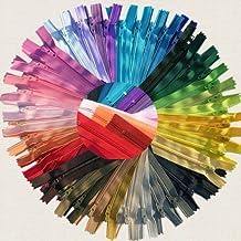 YKK #3 Skirt & Dress Zippers 18 Inch ~ Assortment of Colors (25 Zippers)
