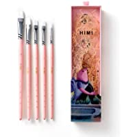 HIMI—Gouache/Watercolor Paint Brushes Set 5 Pcs for Acrylic Oil Watercolor Face & Body Gouache Painting Nice Gift Art…