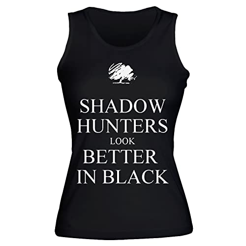 Shadow Hunters Look Better In Black Women's Tank Top Shirt