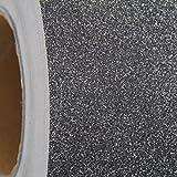 Threadart Black Glitter Self Adhesive Vinyl Roll 12