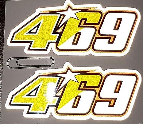 Aufkleber Aufkleber Aufkleber aufkleber Aufkleber Aufkleber autocollants Valentino Rossi Niky Hayden 469 reflektierende hochwertig 2 Einheiten