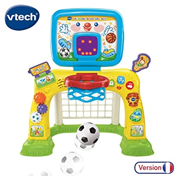 Vtech Bebe Multisport Interactif Jeu Educatif Bebe Centre De Sport Educatif