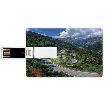64GB Forma de tarjeta de crédito de unidades flash USB Al ...