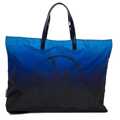 Grand sac shopping pliant ARMANI JEANS bleu  Amazon.fr  Vêtements et ... 4d6f4dbbab8