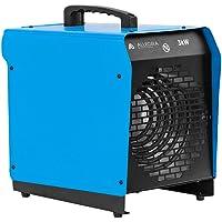 ALLEGRA H30 Heizlüfter Elektroheizung Elektroheizer Bauheizer 3 KW mit Thermostat und ca. 1,5m Zuleitung