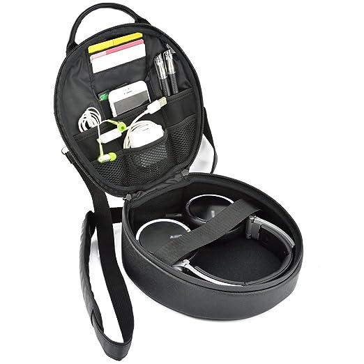 2 opinioni per Geekria® Elite cuffie da trasporto/custodia, imbarco Passport bag/DJ Headset da