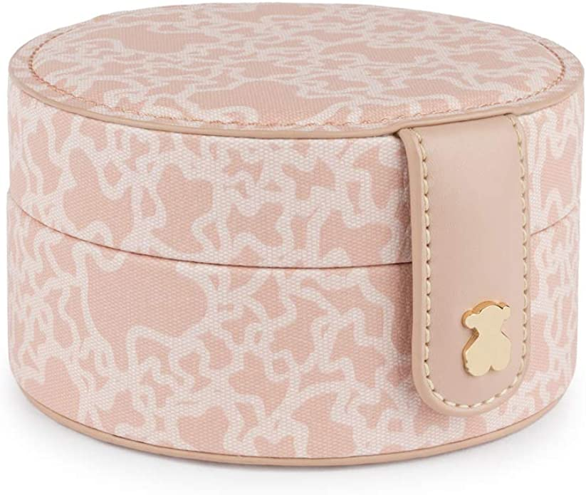 Joyero Kaos Mini de Lona en color rosa TOUS: Amazon.es: Zapatos y complementos