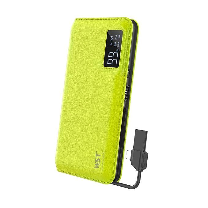 Amazon.com  WST 10000mAh Portable Phone Charger Power Bank(2 USB ... b3c715baee1e