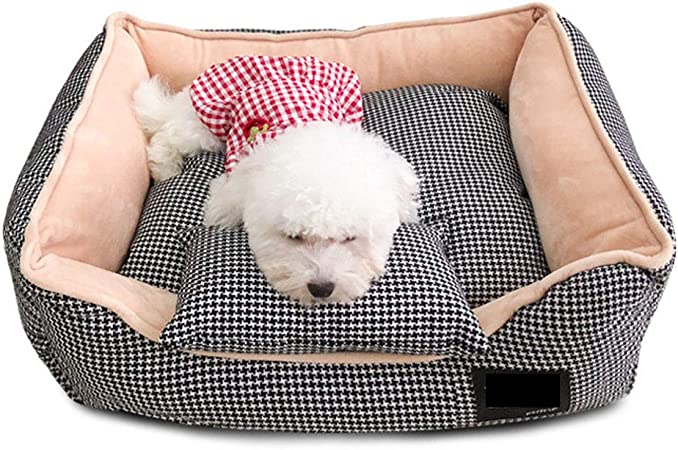 CAMA PERRO,Sofá para Perros,Cesta para Perro Desmontable Y Lavable Máquina,Casa para Mascotas Sofá para Animales para Perros Básica Cama,2,S: Amazon.es: Hogar