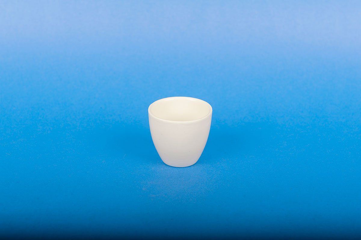 CHEM SCIENCE INC CS-C014330H High-Form Porcelain Crucibles withstand Temperatures Up to 1150°C, Capacity 30 mL, 43 x 37 mm (Pack of 6)
