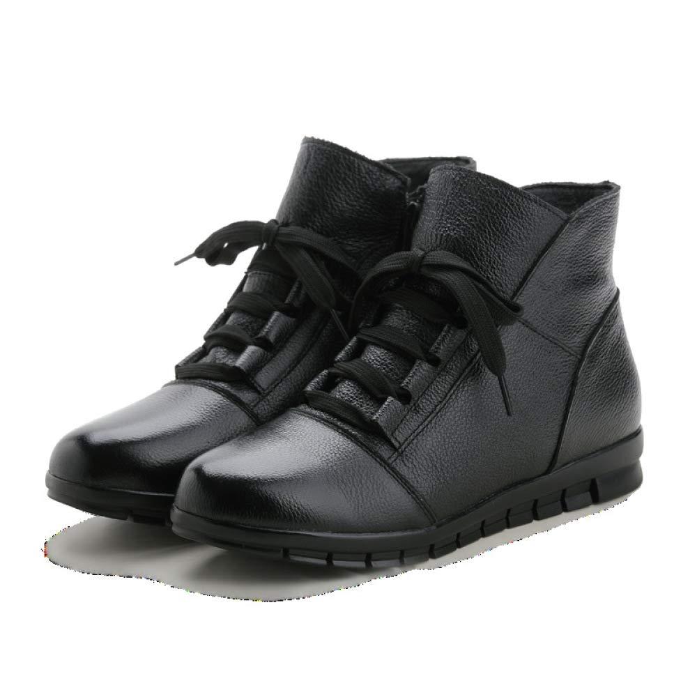 Stivali Stivali Stivali Invernali da Mezza età Invernali in Cotone Madre Scarpe Antiscivolo c7d962