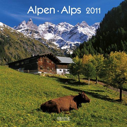 Alpen/Alps 2011. Broschürenkalender