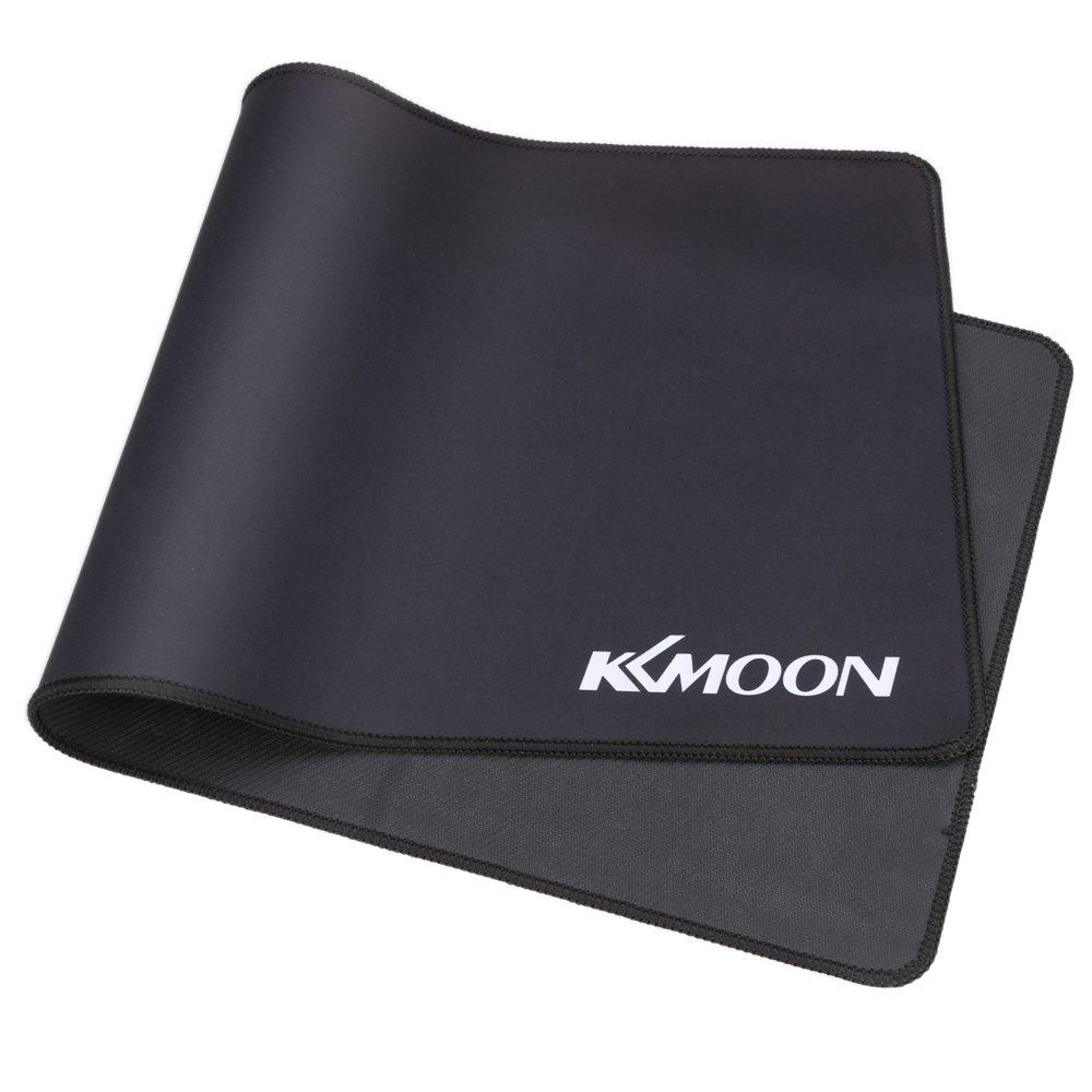 KKmoon 800*400*3mm Large Size Plain Nero Estesa Impermeabile Antiscivolo in Gomma di Velocit/à del Gioco di Gioco dei Mouse del Mouse Pad Desk Mat