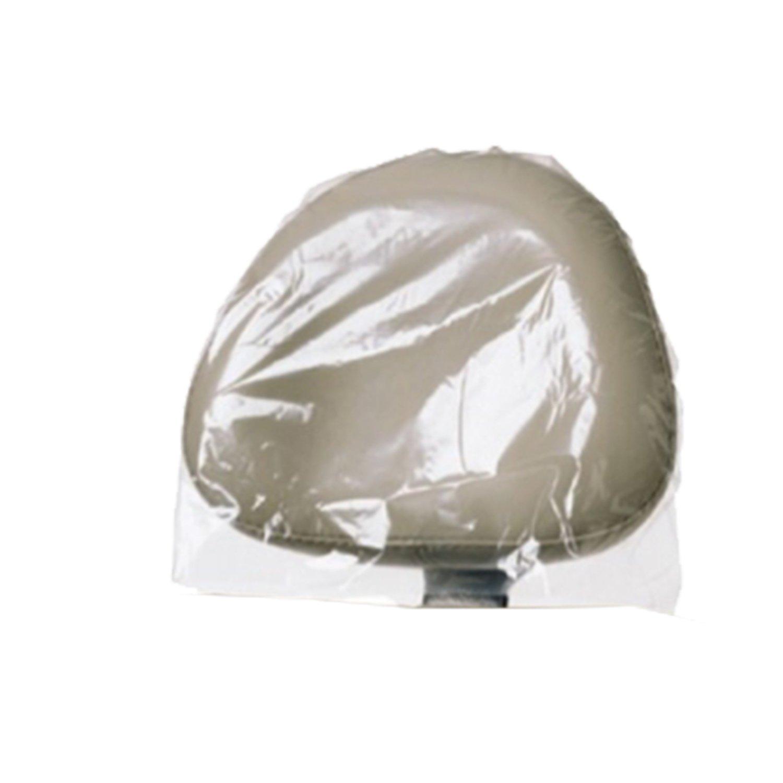 Dynarex Plastic Headrest Covers Large 9.5'' x 14'' 12/250/Cs
