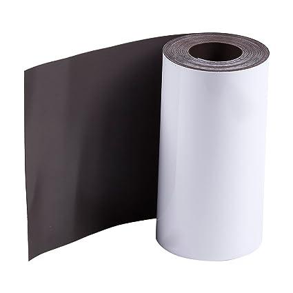 Rollo de pizarra magnética de borrado en seco, 10 cm x 3 m ...