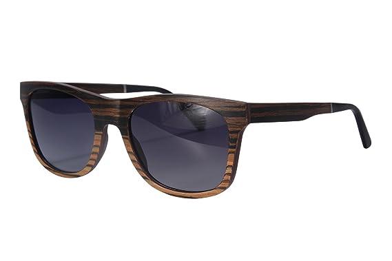 SHINU Holz Sonnenbrille Polarisierte Sonnenbrille UV400 Schutz Herren Sommer Eyewear-SH73007 fNNiQHJ