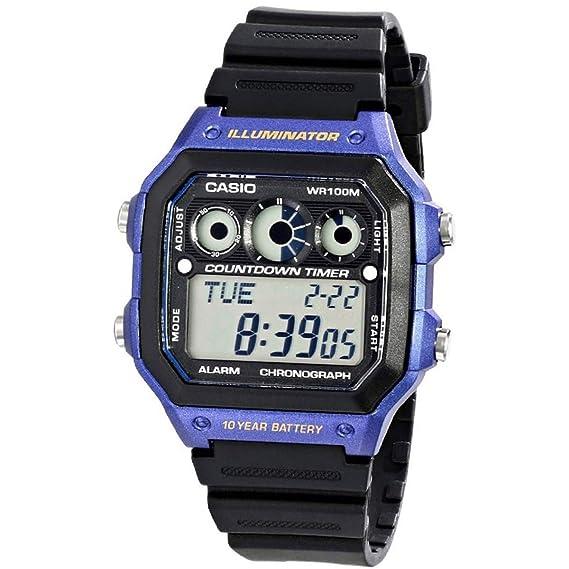 a5a91eb01e4 Relógio Masculino Casio Digital Esportivo AE-1300WH-2AVDF  Amazon ...
