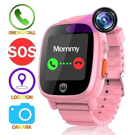 Amazon com: Alian Children's Phone Watch With GPS Positioning Taking