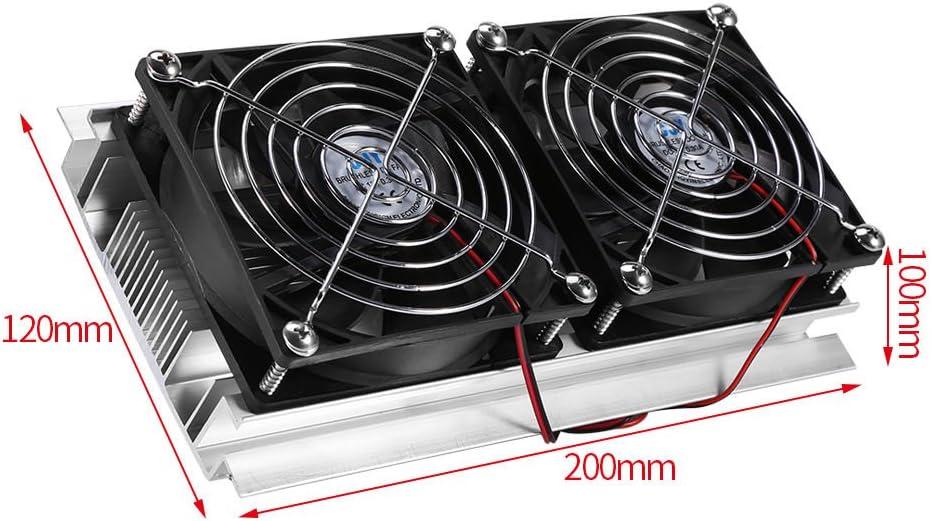 Jeanoko Lightweight Radiator Heat Sink Black Sink Cooling Fin for Electrical Equipment
