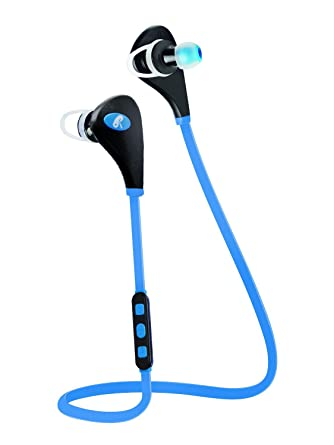 Auriculares Bluetooth por RUMIX, cancelación de ruido, sumergible inalámbrico auriculares para deportes/gimnasio