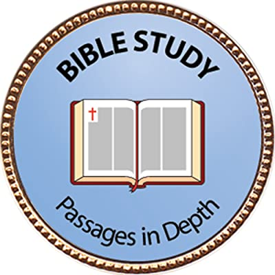 Keepsake Awards Bible Study - Passages in Depth Award, 1 inch Dia Gold Pin Spiritual Life Skills Collection: Toys & Games