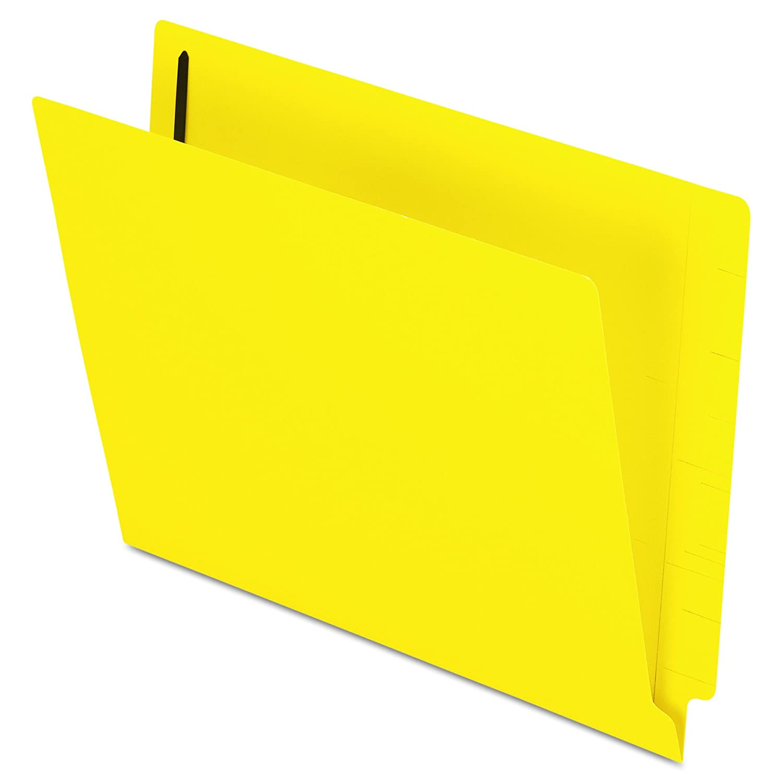 Pendaflex Pendaflex Pendaflex Color End-Tab Carpetas de cierre, tamaño carta, amarillo, corte recto, 50/BX (H10U13Y) adc1c2