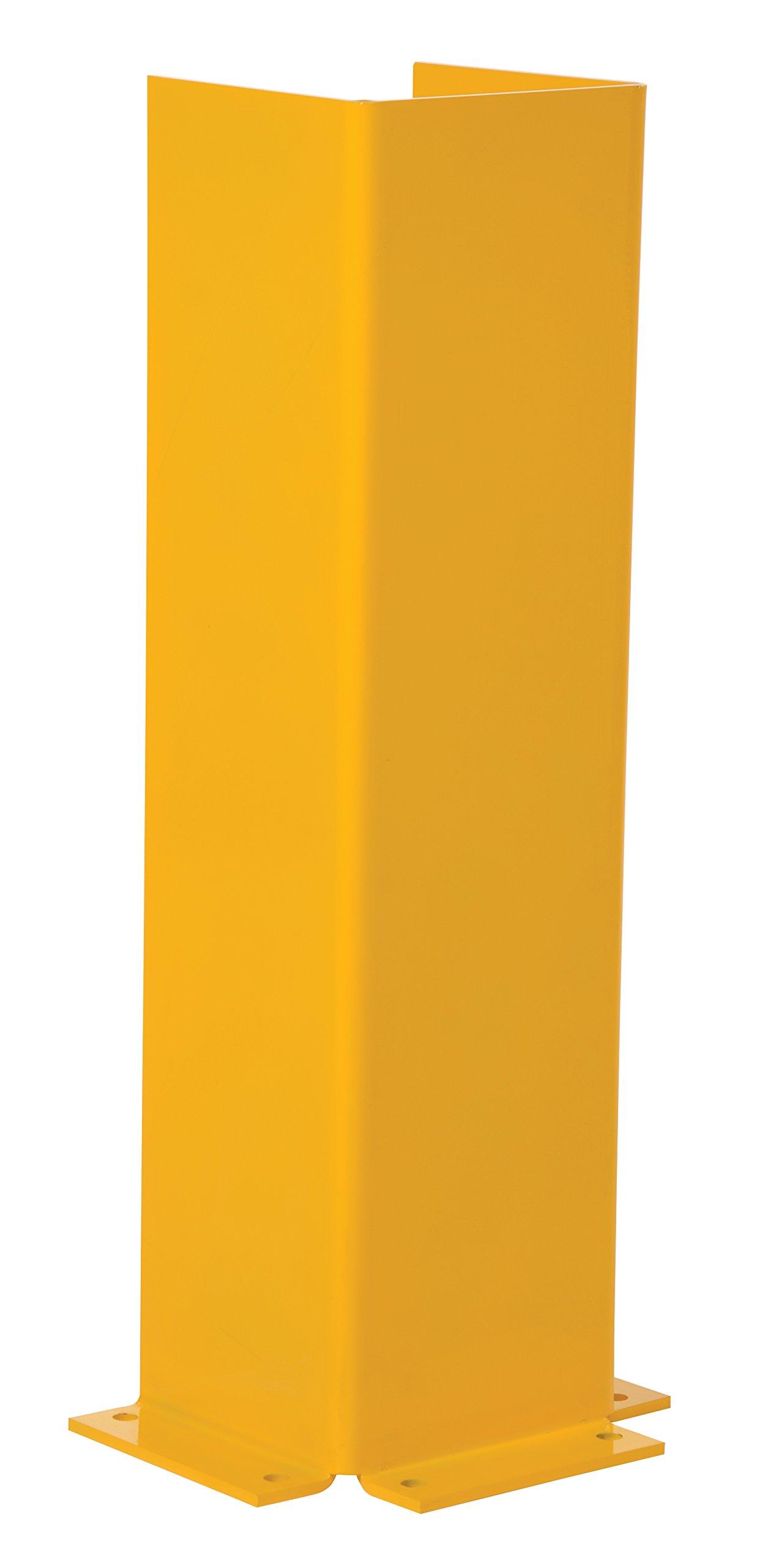 Vestil CG-42 Gantry/Jib Column Guard Protector, Steel, 10-1/2'' Inside Width, 42'' Overall Height, 10'' Inside Depth by Vestil