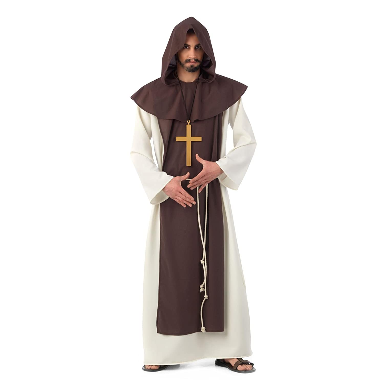 Limit Sport - Disfraz de monje cisterciense medieval, para adultos ...